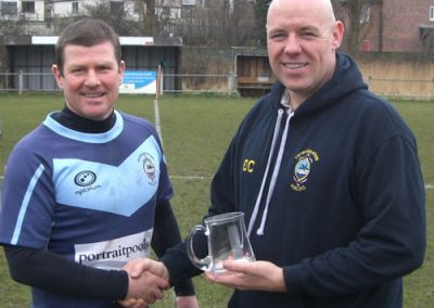 Andy Helme 400 games