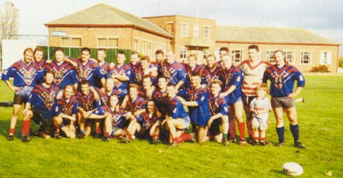 Sponsored tackle event for Craigies Children's home about 1996-7