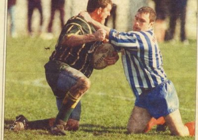 Dave Ford, back page of Lancaster Guardian about 2000