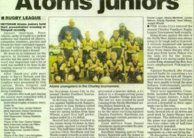 Atoms Juniors
