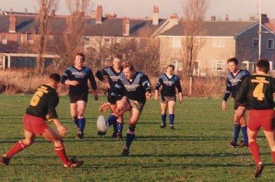 Pete Whalley,Dave Crow,John Hughes,Johnny Graham and Chris Needham